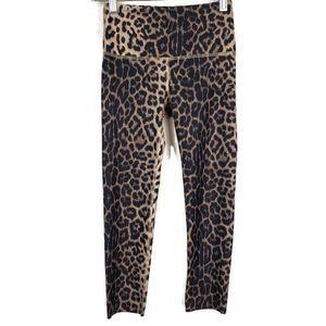 Noli Active Leopard Capri Leggings Sz XS